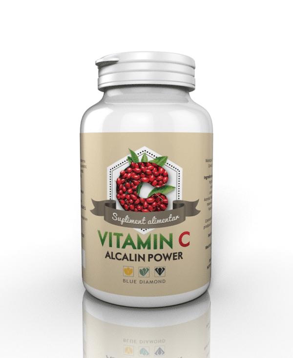 vitamina C alcalina