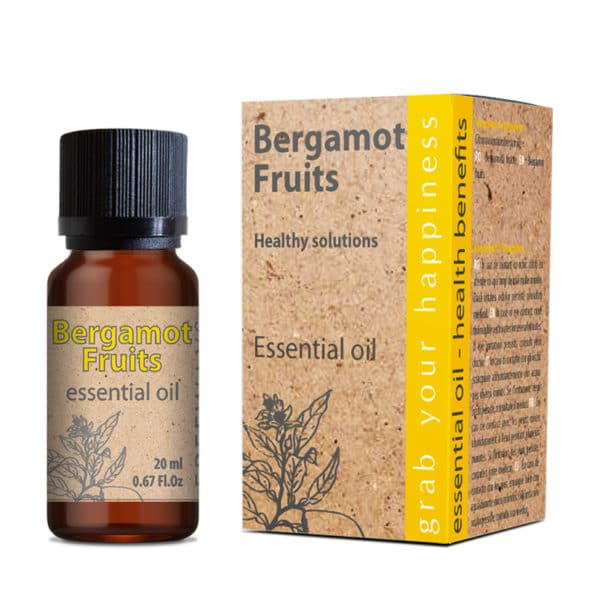 Ulei esential de Bergamota pret anxietate Bergamot Fruits essential oil